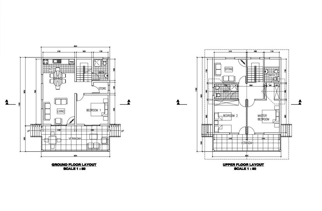 3 Bedrooms double floor – Price from € 95.000